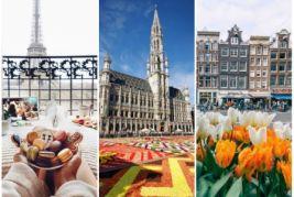 Франция-Бельгия-Голландия